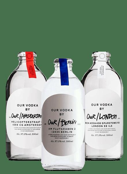 Our/Vodka Berlin, Amsterdam, London