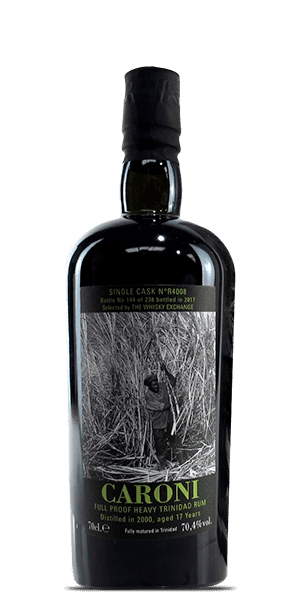 Caroni 17 Year Old Full Proof Heavy Trinidad Rum 2000