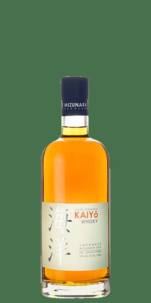Kaiyo Mizunara Aged Cask Strength Japanese Malt Whisky