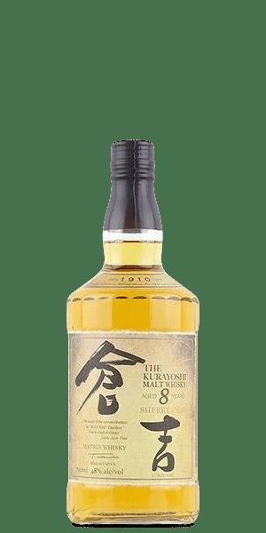 Kurayoshi 8 Year Old Sherry Cask Malt Whisky