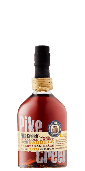 Pike Creek 10 Year Old Rum Barrel Finished Canadian Whisky