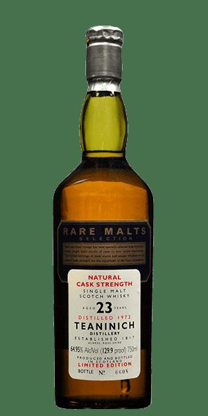 Rare Malts Teaninich 23 Year Old 1972