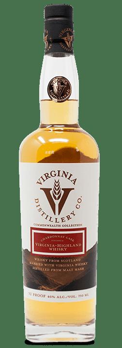 Chardonnay Cask Finished Virginia Highland Whisky