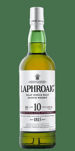 Laphroaig 10 Year Old Cask Strength