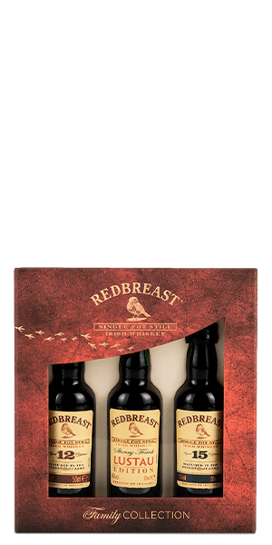 Redbreast Family Collection Tri-Pack
