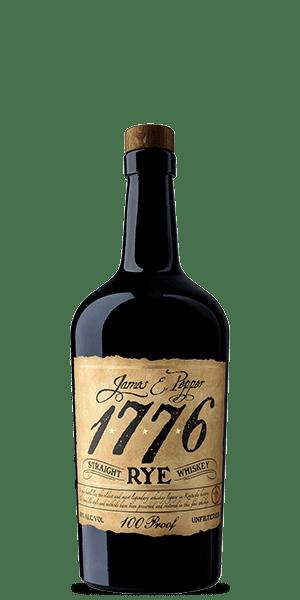 James E. Pepper 1776 100 Proof Rye Whiskey