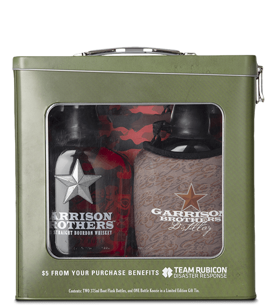 Garrison Brothers Boot Flask 2-Pack Gift