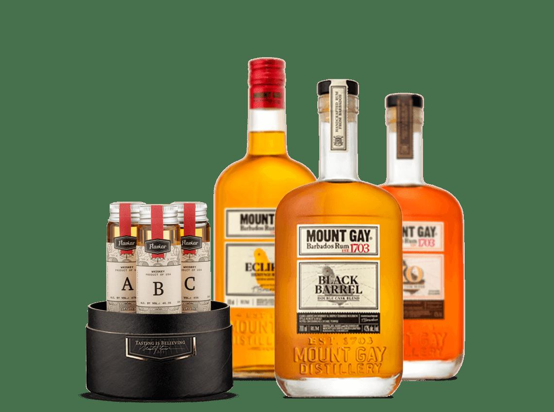 Mount Gay Rum Flight
