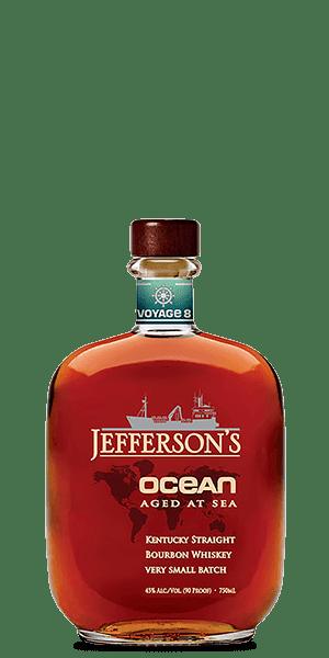 Jefferson's Ocean Aged at Sea Voyage 8 Bourbon