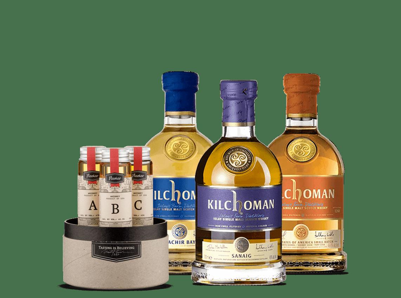 Kilchoman Whisky Flight