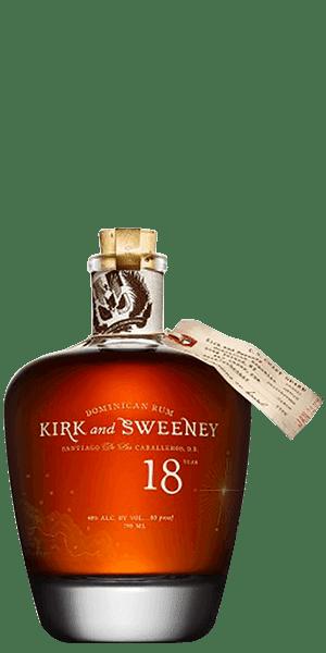 Kirk and Sweeney 18 Year Old Rum