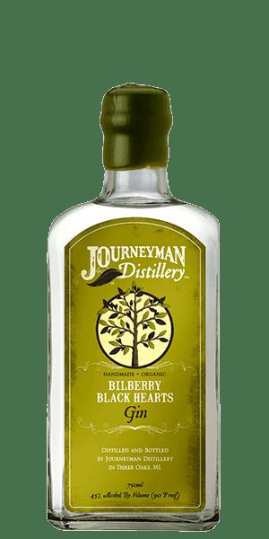 Journeyman Bilberry Black Hearts Gin