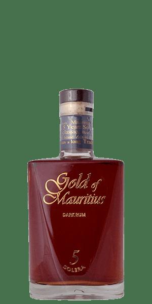 Gold of Mauritius Dark Rum Solera 5