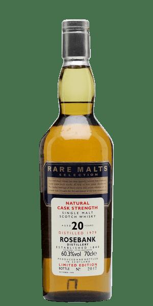 Rare Malt Selection Rosebank 20 Year Old 1979