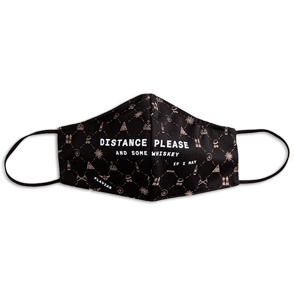 Flaviar Cloth Face Mask - Distance please
