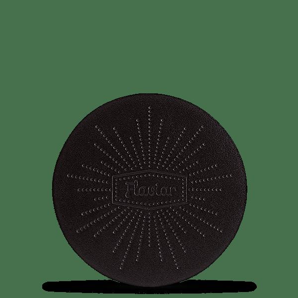 4 Flaviar Leather Coasters