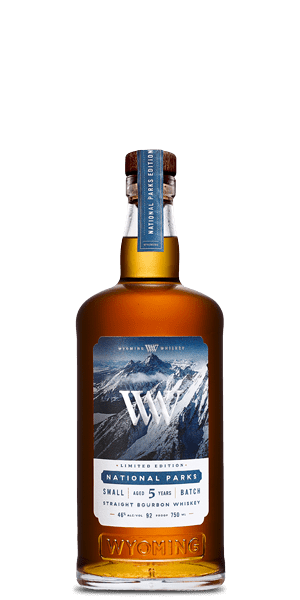 Wyoming Whiskey National Parks 5 Year Old Small Batch