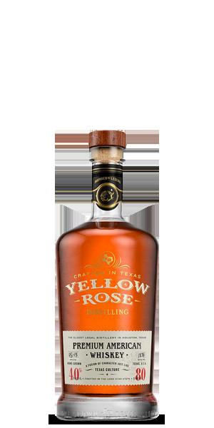 Yellow Rose Distilling Premium American Whiskey