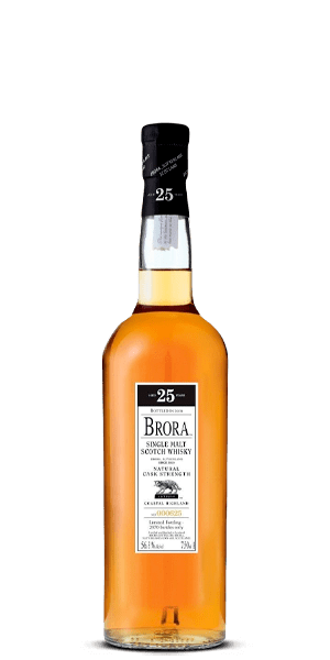 Brora 25 Year Old Natural Cask Strength