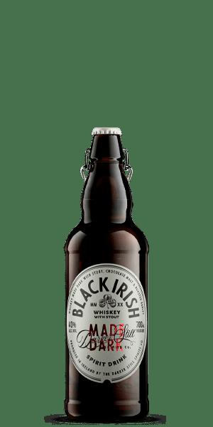 Black Irish Made Dark Spirit Drink