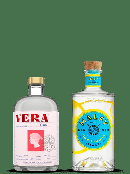 Vera Ginø & Malfy Gin Con Limone Bundle