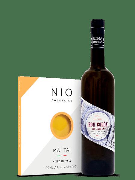 Ron Colón Salvadoreño Dark Aged Rum + Nio Cocktails Mai Tai Bundle